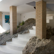 Rock-staircase